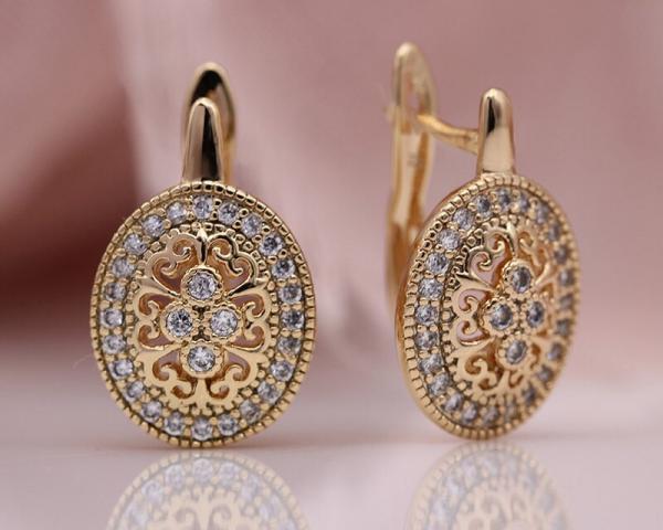 PATAYA New Micro Wax Inlay Hollow Drop Earrings Women Luxury Wedding Fashion Jewelry 585 Rose Gold Natural Zircon Flower Earring 2