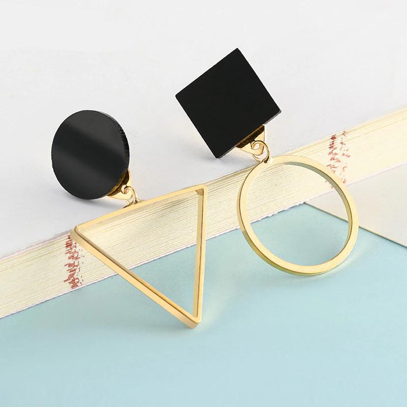 Fashion New Women's Acrylic Drop Earrings Hot Selling Long Dangling Earrings Gift For Women Party Wedding Jewelry Brincos 10
