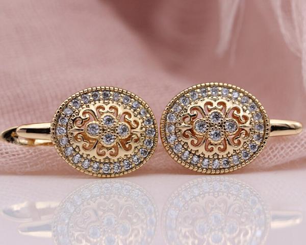 PATAYA New Micro Wax Inlay Hollow Drop Earrings Women Luxury Wedding Fashion Jewelry 585 Rose Gold Natural Zircon Flower Earring 4