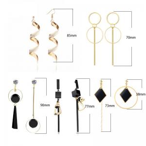 Fashion New Women's Acrylic Drop Earrings Hot Selling Long Dangling Earrings Gift For Women Party Wedding Jewelry Brincos 3