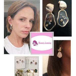 Vintage Earrings 2019 Geometric Shell Earrings For Women Girls BOHO Resin Drop Earrings Brincos Fashion Tortoise Jewelry 6