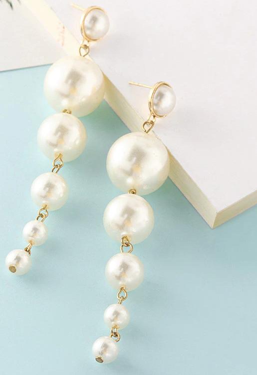 Fashion New Women's Acrylic Drop Earrings Hot Selling Long Dangling Earrings Gift For Women Party Wedding Jewelry Brincos 17