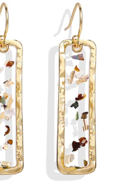 Vintage Earrings 2019 Geometric Shell Earrings For Women Girls BOHO Resin Drop Earrings Brincos Fashion Tortoise Jewelry 38