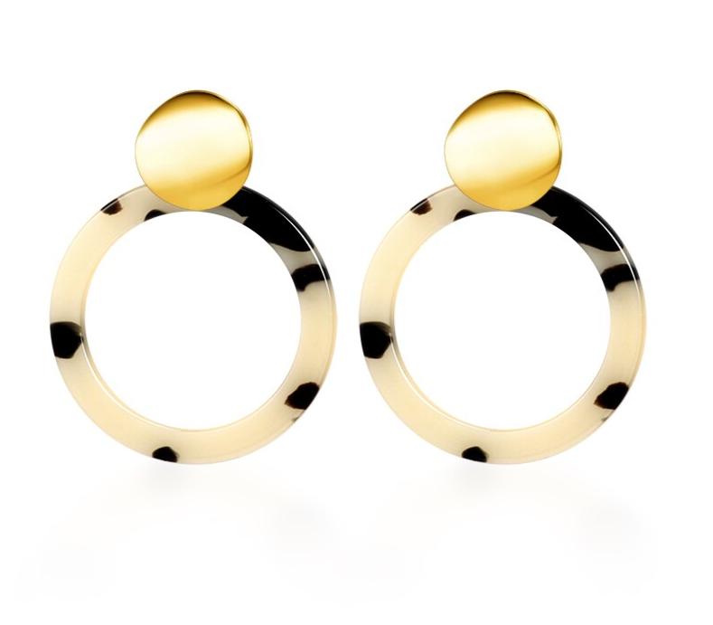 Vintage Korean Big Earrings for Women Female Fashion Gold Cubic zirconia Drop Dangle Earring Geometric earings Jewelry 2019 9