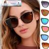 Brand Vintage Cat Eye Sunglasses Women Luxury Cateye Sun Glasses For Woman Sunglasses Ladies Designer High Quality 2020