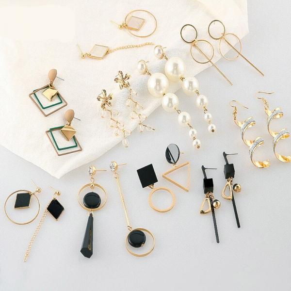 Fashion New Women's Acrylic Drop Earrings Hot Selling Long Dangling Earrings Gift For Women Party Wedding Jewelry Brincos 2