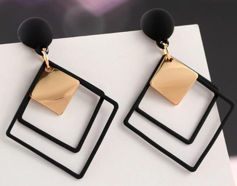 Fashion New Women's Acrylic Drop Earrings Hot Selling Long Dangling Earrings Gift For Women Party Wedding Jewelry Brincos 6