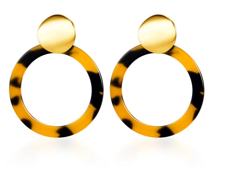 Vintage Korean Big Earrings for Women Female Fashion Gold Cubic zirconia Drop Dangle Earring Geometric earings Jewelry 2019 10