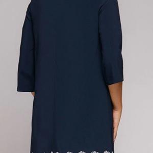 2020 Elegant Slim Lace Round Neck Dress 3