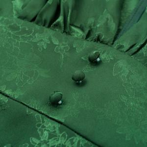 2020 Alluring V-Nexk Party Dress with Lantern Sleeve 5