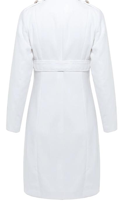 2020 Trendy Slim Long Trench Coat Womens Fashion 4