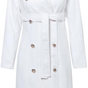 2020 Trendy Slim Long Trench Coat Womens Fashion 3