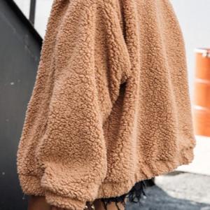 2020 Faux fur Oversized Warm Jacketcoat